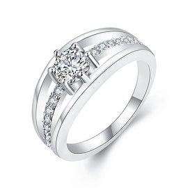 Simple & Sophisticated White Gold Ring