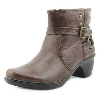 Easy Street Carson Women WW Round Toe Synthetic Ankle Boot