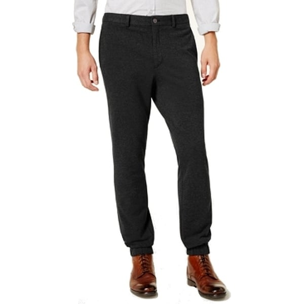 e80398dde8 Shop Calvin Klein Solid Mens 35X30 Stretch Slim Fit Pants - Free Shipping  On Orders Over  45 - Overstock - 27056345