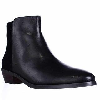 Coach Carmen Casual Ankle Boots, Black/Black