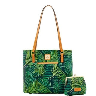 Dooney & Bourke Siesta Coated Cotton Small Lexington Large Frame Purse Bag (Introduced by Dooney & Bourke at $268 in Jan 2018)