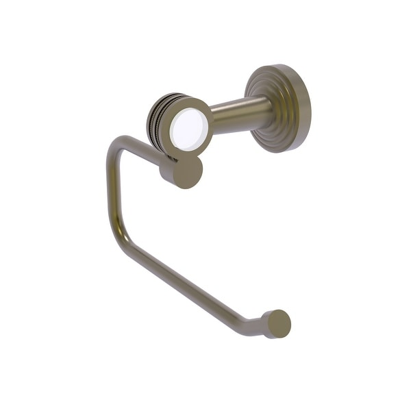 Allied Brass Pacific Beach Collection European Style Toilet Tissue Holder with Dotted Accents