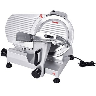 Costway 12'' Blade Commercial Meat Slicer Deli Meat Cheese Food Slicer Industrial - as pic