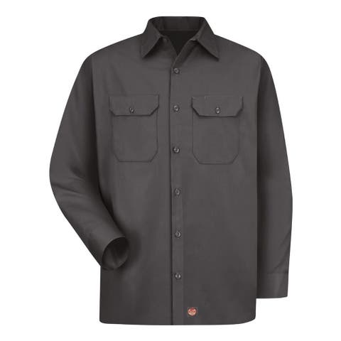 Utility Long Sleeve Work Shirt Long Sizes