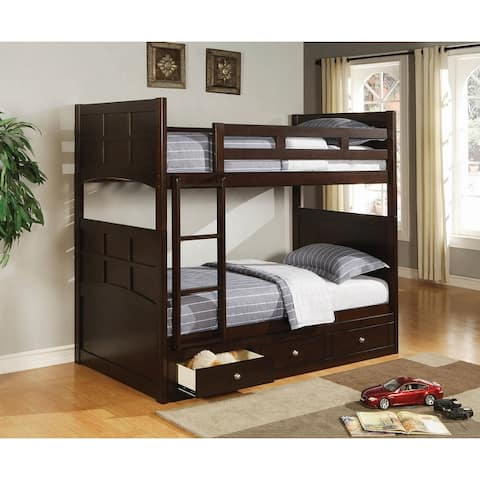 Gouda Cappuccino Brown 3-drawer Underbed Storage