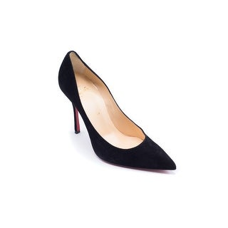 Christian Louboutin Womens Black Decoltish 100 mm Pumps - 8