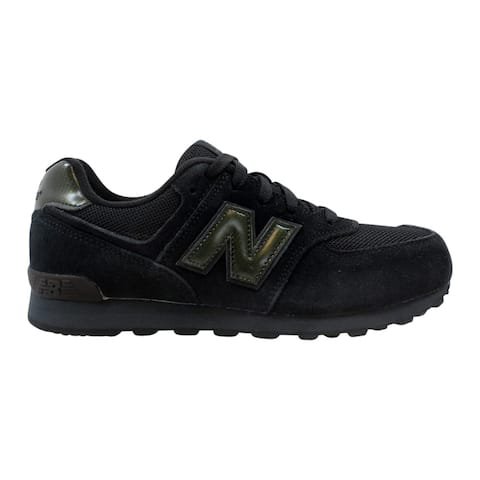 timeless design 942c5 d7373 New Balance Grade-School 574 Kids Black Black KL574TBG