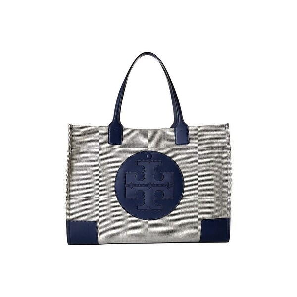 06ad02c4c543f0 Shop Tory Burch Ella Canvas Tote - Free Shipping Today - Overstock ...