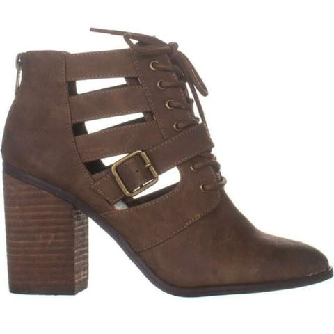 Madden Girl Womens Marv Closed Toe Ankle Fashion Boots