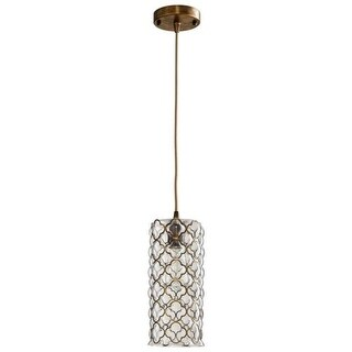Cyan Design Small Corsica One Light Pendant Corsica 1 Light Pendant with Clear Shade