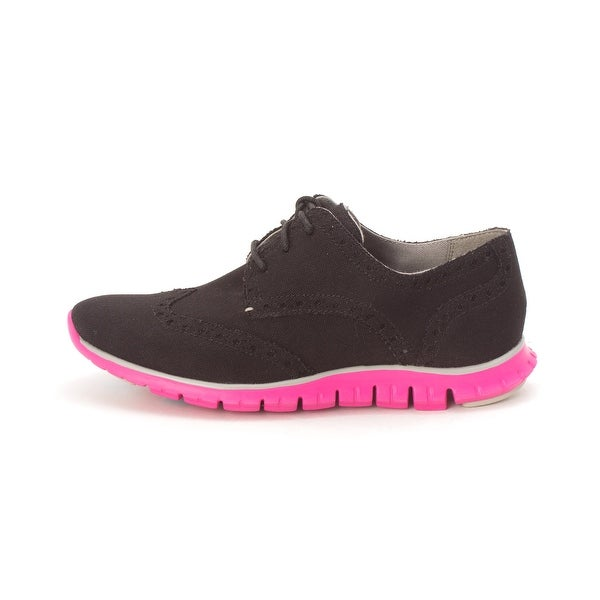 Cole Haan Womens CH1986S-1 Canvas Low Top Lace Up Fashion Sneakers - 6