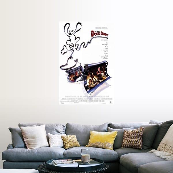 Shop Black Friday Deals On Who Framed Roger Rabbit 1988 Poster Print Overstock 24133840