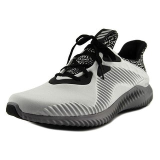 Adidas Alphabounce Men Round Toe Canvas Gray Running Shoe