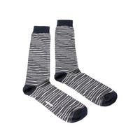 Missoni GM00CMU5231 0005 Gray/White Knee Length Socks - Grey