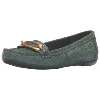 Anne Klein Womens Noris Closed Toe Loafers
