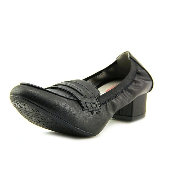 Rialto Courtney Women Round Toe Synthetic Black Loafer