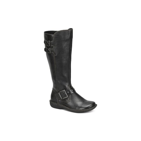 4b1570e0d059 B.O.C Womens Oliver Leather Closed Toe Knee High Fashion Boots