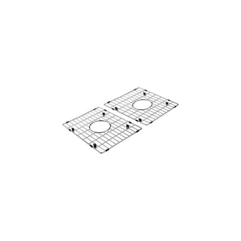 """Transolid Bottom Stainless Steel Sink Grid Set - 15.75"""" x 12.5"""" x 1"""""""