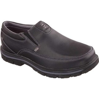 f79b9809346c Shop Skechers Men s Relaxed Fit Glides Calculous Slip On Black - On ...