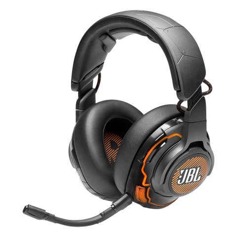 JBL Quantum ONE Over-Ear USB Gaming Headset (Black)