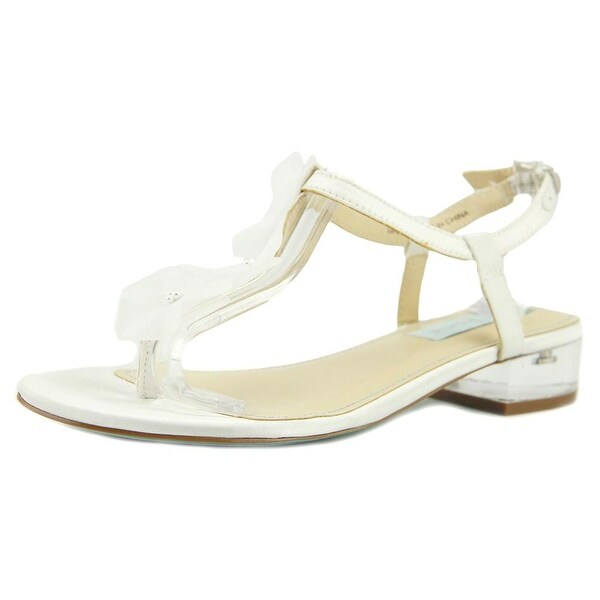 Betsey Johnson Olive Ivory Sandals