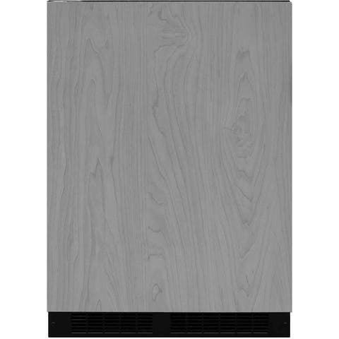 """Marvel ML24RFL 24"""" Wide 4.9 Cu. Ft. 72-Can Built-In Beverage Center with LED Lighting, Tempere"""