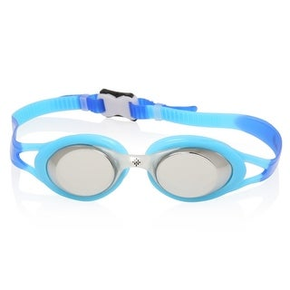 Ivation Mirrored Swim Goggles - UV Protection, Anty-Fog, Quick Adjusting Silicone Head Strap (3 options available)