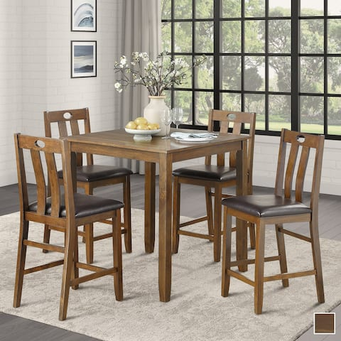 Levittown 5-Piece Counter Height Dining Set