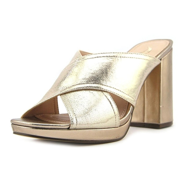 Nina Adoncia Women Taupe Reflective Sandals