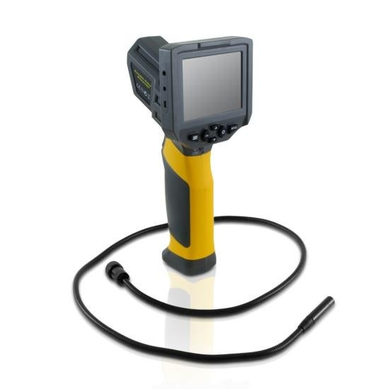 Hi-Res Digital Wireless Borescope Inspection Camera & Video Monitor System, Snap Pictures & Record Video, Compact & Portable