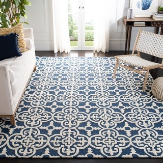 Link to Safavieh Handmade Cambridge Lucindy Modern Wool Rug Similar Items in Transitional Rugs