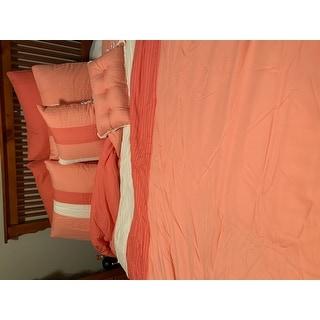 Superior Florence Coral 8-piece Comforter Set
