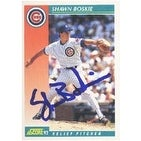Shawn Boskie Chicago Cubs 1992 Score Autographed Card This item comes with a certificate of authenticity from Autogra