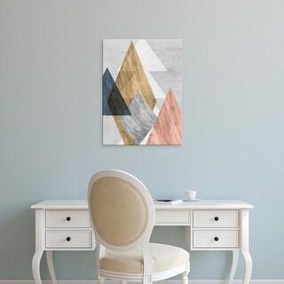 Easy Art Prints Jennifer Goldberger's 'Peaks I' Premium Canvas Art