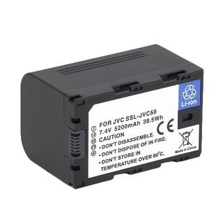 Battery for JVC SSL-JVC50 (Single Pack) Replacement Battery