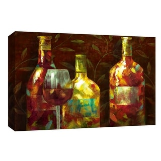 "PTM Images 9-147987  PTM Canvas Collection 8"" x 10"" - ""Napa II"" Giclee Leaves Art Print on Canvas"