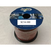 Clear Speaker Wire 14 Gauge 100 Feet
