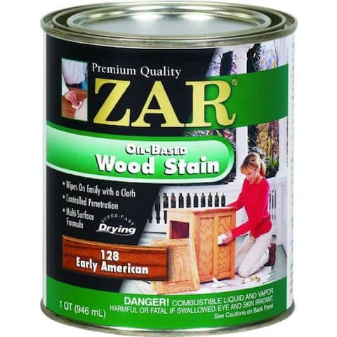 ZAR 12812 Interior Oil-Based Wood Stain, Early American, 1 Qt