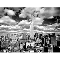 ''Sky Over Manhattan'' by Henri Silberman Photography Art Print (23.5 x 31.5 in.)