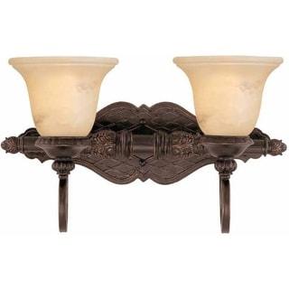 "Savoy House 8P-50215-2 Knight 18.75"" Wide 2 Light Bathroom Vanity Light"