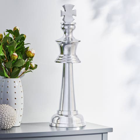 Elko Handcrafted Aluminum Decorative King by Christopher Knight Home
