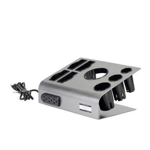 Tabletop Hair Iron & Hair Dryer Holder - Salon Appliance Stand