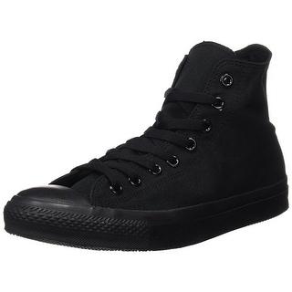 Converse Mens Chuck Taylor All Star High Top, Black Monochrome - black monochrome