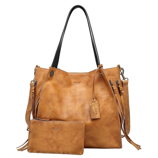 Old Trend Genuine Leather Daisy Tote Bag. Opens flyout.