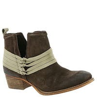 Diba True Womens Sly Fox Leather Almond Toe Ankle Fashion Boots