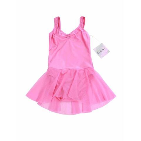 Annie Big Girls Baby Pink Lily Skirted Dance Leotard