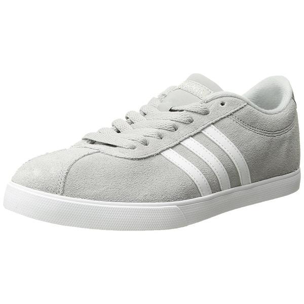 Pórtico flotante Madison  adidas NEO Women's Courtset W Sneaker, Light Onix/White/Metallic Silver -  Overstock - 18279282