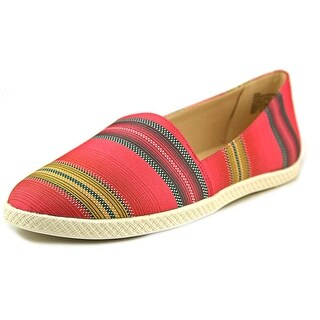 Nine West Residency Round Toe Canvas Loafer