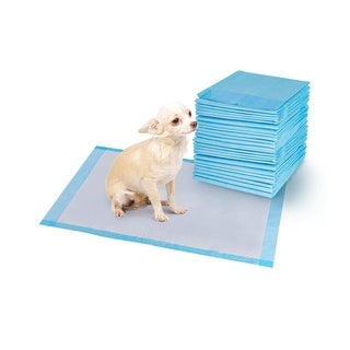 Costway 300 PCS 17'' X 24'' Puppy Pet Pads Dog Cat Wee Pee Piddle Pad Training Underpads