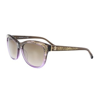 Roberto Cavalli RC991S/S 50F Purple/Brown Square Sunglasses - 55-17-140